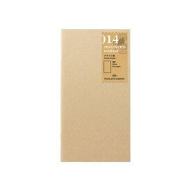 【あわせ買い対象商品】クラフト/014 (ミドリ デザインフィル トラベラーズノート リフィル) 14365-006
