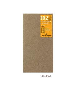 【あわせ買い対象商品】 セクション/002 (ミドリ デザインフィル トラベラーズノート リフィル) 14246