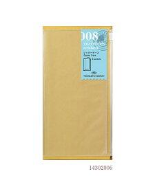【あわせ買い対象商品】ジッパーケース/008 (ミドリ デザインフィル トラベラーズノート リフィル)14302