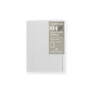 TRAVELER'S notebook〜☆トラベラーズノート・パスポートサイズリフィル☆〜【004】ジッパー 14316 ミドリ デザインフィル【un】
