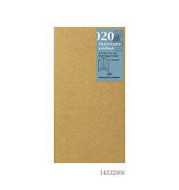 【あわせ買い対象商品】クラフトファイル/020 (ミドリ デザインフィル トラベラーズノート  リフィル)14332 【ミドリ デザインフィル】