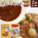 豊橋チキンカレー200g&トロピカルビーフカレー200g 2種類各1食 三共食品【常温】(送料別)