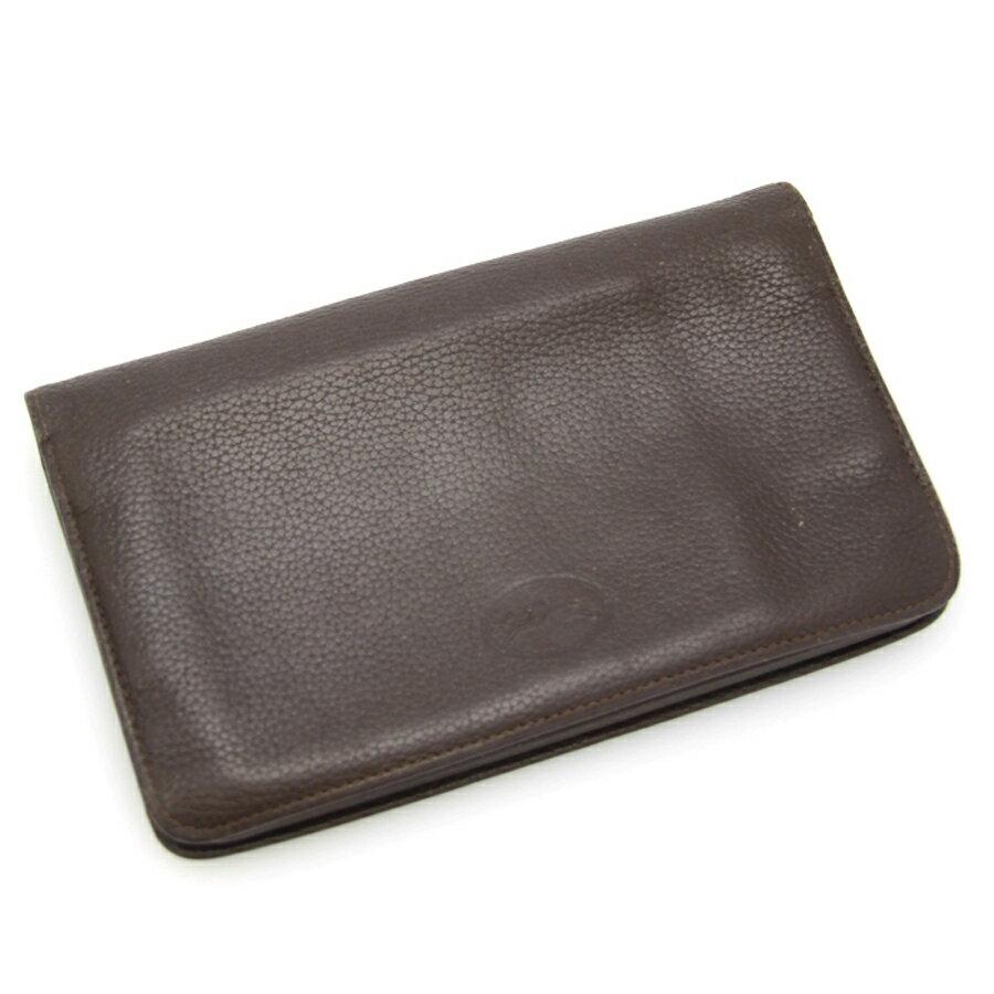 【中古】ロンシャン ファスナー付財布【Bランク】