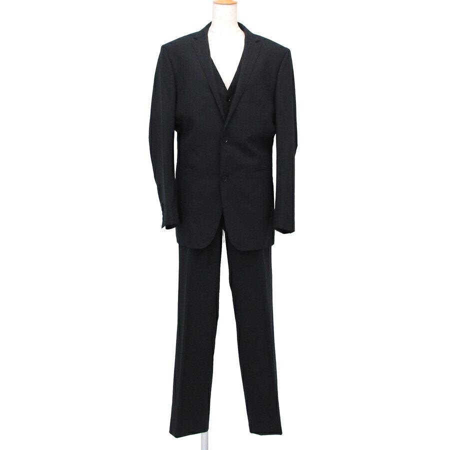【送料無料】【中古】バーバリーブラックレーベル スーツ 【Aランク】