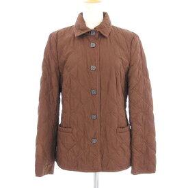 【中古】フェラガモ キルティングジャケット 【Bランク】