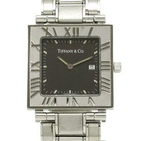 ティファニー アトラススクエア 28mm メンズ 腕時計【Aランク】【中古】