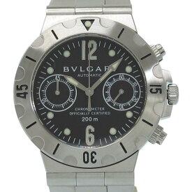 ブルガリ ディアゴノスクーバクロノ 38mm SCB38S メンズ 腕時計【Aランク】(中古)