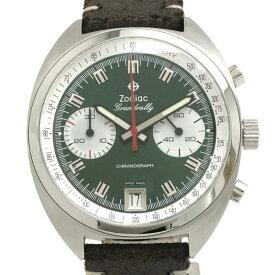 ゾディアック グランドラリークロノ 42mm Z09607 メンズ 腕時計【Aランク】【中古】