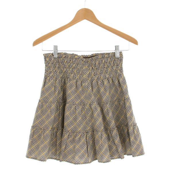 【中古】バーバリーブルーレーベル スカート 【Bランク】