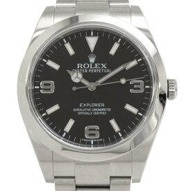 ロレックス エクスプローラー1 39mm 214270 メンズ 腕時計【Aランク】【中古】