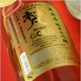 梵 GOLD 無濾過 純米大吟醸 1800ml 加藤吉平商店 日本酒 地酒 福井県