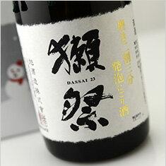 【箱入】獺祭 磨き二割三分 発泡にごり酒 冬季限定カートン入り 720ml