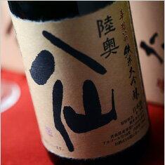 【箱入】陸奥八仙 華想い40 純米大吟醸(要冷蔵商品) 1800ml