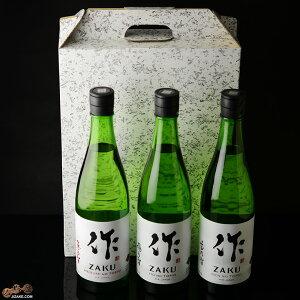 【送料込み】作 恵・穂・玄 三連智(さんれんとも) 日本酒飲み比べセット 720ml 3本【13】