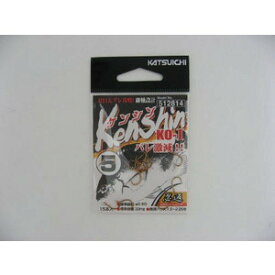 【5枚セット】カツイチ(KATSUICHI) 針  Kenshin(ケンシン) KO-1 (kset0075)  (katu-baraI)