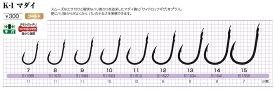 【5枚セット】カツイチ(KATSUICHI) 磯・船・波止 K-1マダイ ゴールド (kset0062)  (katu-baraI)