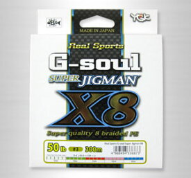 YGK よつあみ PEライン G-soul スーパージグマン X8 4号 60lb 300m (Y-Game)