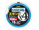 【特価】デュエル(DUEL) PEライン HARDCORE X4 エギング 150m 0.8号 MP(ミルキーピンク)