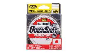 デュエル(DUEL) H3350 HARDCORE QUICK SHOT CN 150m 14Lbs.