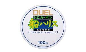 デュエル(DUEL) H959 H.D.カーボン船ハリス 100m 6号