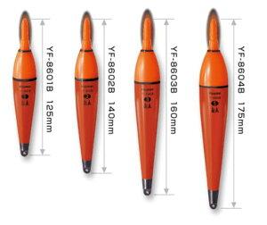 ハピソン(Hapyson) 電気ウキ 赤色発光自立ラバートップウキ YF-8603B
