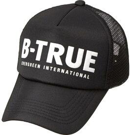 B-TRUE ベーシックメッシュキャップ ブラック (BT-cap)