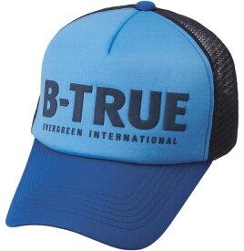 B-TRUE ベーシックメッシュキャップ ブルー/ネイビー (BT-cap)
