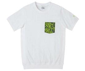 B-TRUE オリカモポケットTシャツ M ホワイト (BT-wear)