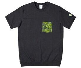 B-TRUE オリカモポケットTシャツ S ブラック (BT-wear)