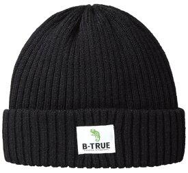 B-TRUE フリースinニットワッチ ブラック (BT-cap)