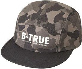 B-TRUE ジェットキャップ グレーカモ×ブラック (BT-cap)