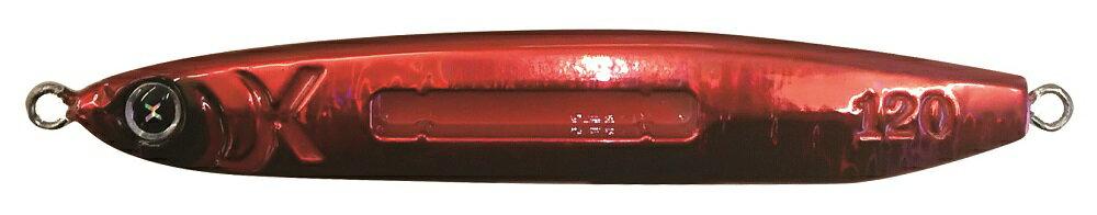 ルミカ(LUMICA)  太刀魚ジギング専用『メタルジャッカーRAIZIN』 150g フルレッド(A21640)