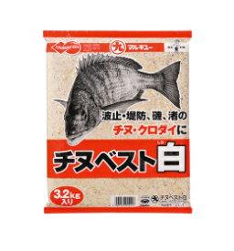 マルキュー(marukyu) 集魚材 チヌベスト白 3200g (8) 西日本限定(愛知・岐阜含む)