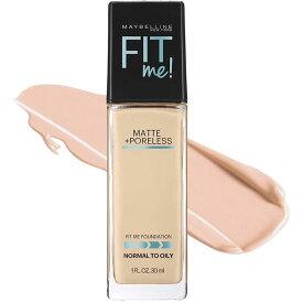 メイベリン フィットミー リキッド ファンデーション 115 標準的な肌色 ピンク系