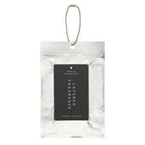 レイヤードフレグランス モバイルフレグランス シュガーライチ サシェ 芳香剤 カード型 ボールチェーン付き セントネーションズ
