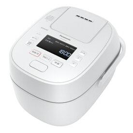Panasonic 可変圧力IH炊飯器 Wおどり炊き SR-MPW100-W