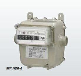 アズビル金門 微流量灯油メーター NDR-6 8mm銅管用継手付き 右入り/左入りあり