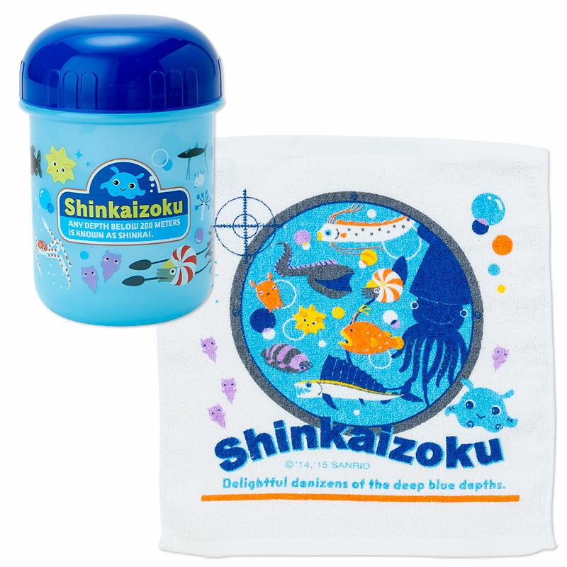 シンカイゾク おしぼり&ケース(バブル)
