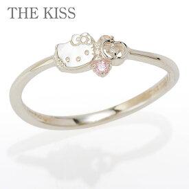 ハローキティ×THE KISS フェイス&りんごモチーフリング
