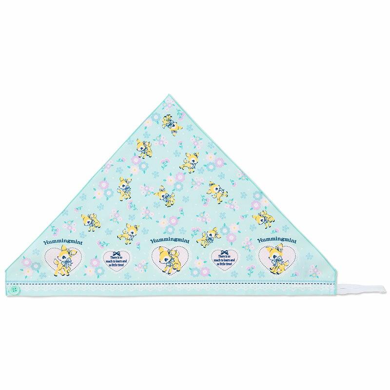 ハミングミント キッズ三角巾(フラワー)