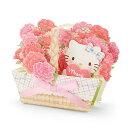 ハローキティ 母の日カード(花かご)