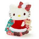 ハローキティ クリスマスライト&ボイスカード(ふかふかキティ)