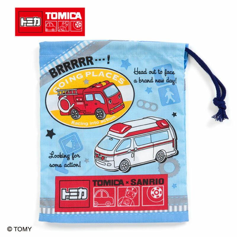 トミカ×サンリオ プラカップ袋(ワッペン)