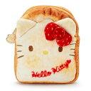 ハローキティ 食パン風フラットポーチ(ベーカリー)