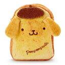 ポムポムプリン 食パン風フラットポーチ(ベーカリー)