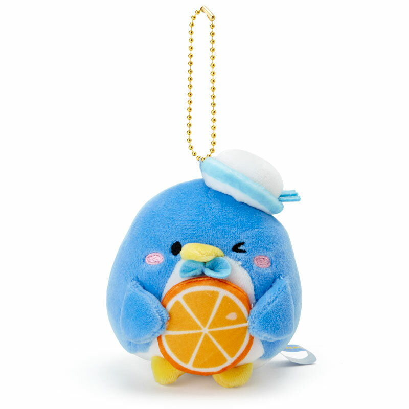 タキシードサム もぐもぐマスコットホルダー(オレンジ)