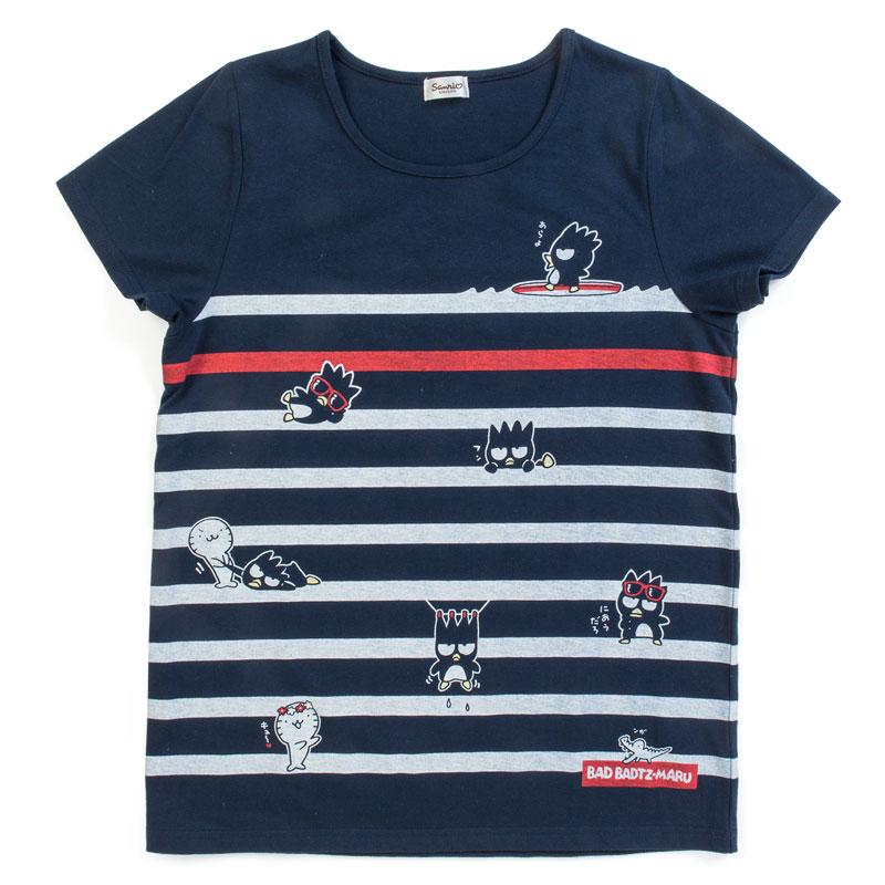 バッドばつ丸 Tシャツ(ボーダー)