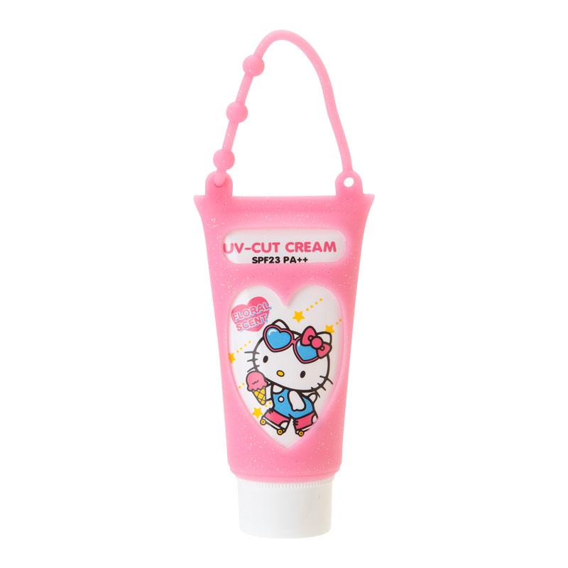 ハローキティ 携帯UVクリーム(フローラルの香り)