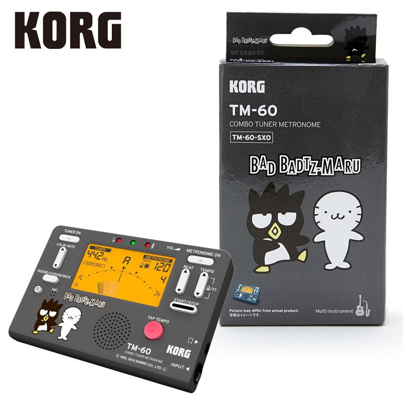 バットばつ丸×KORG チューナー&メトロノーム(ブラック)