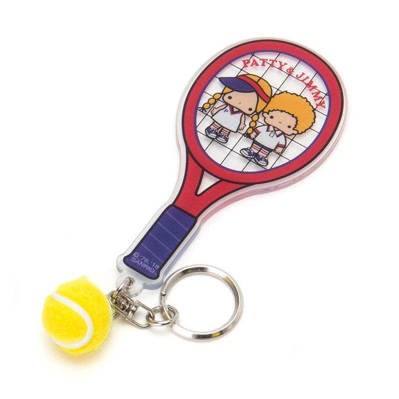 パティ&ジミー アクリルキーホルダー(テニス)